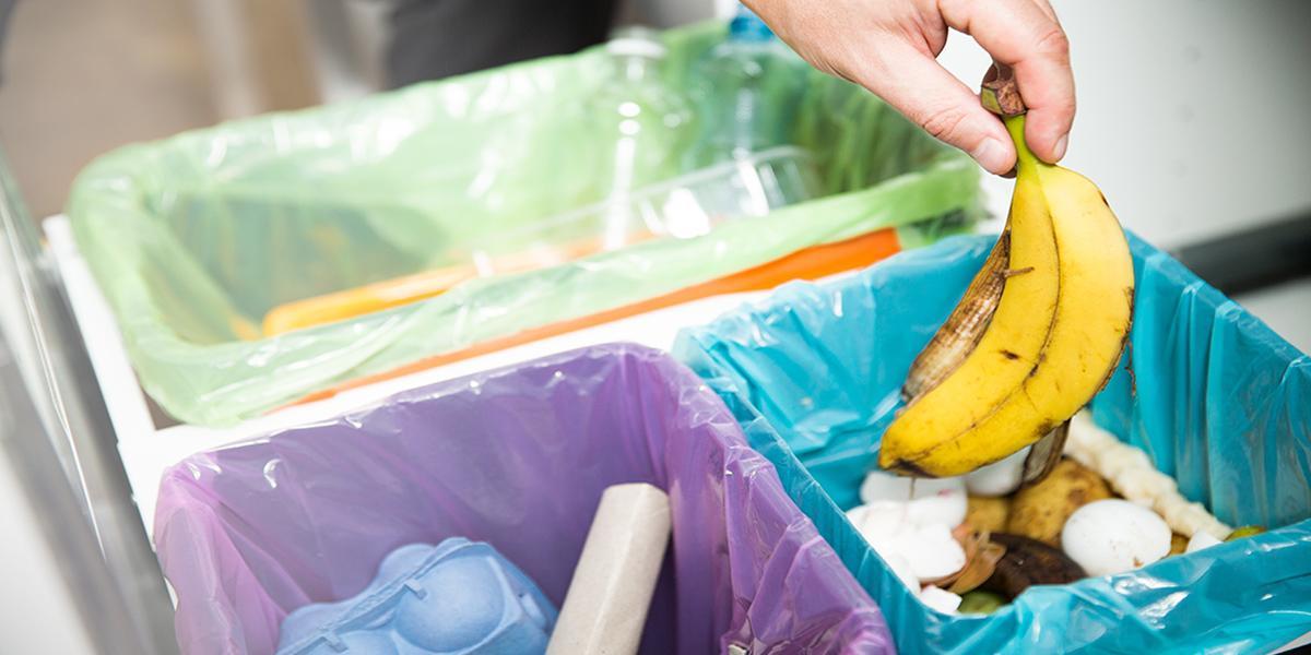 Ločeno zbiranje in zmanjševanje nekoristnih odpadkov